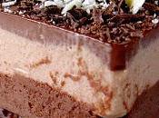 Mousse pralinée chocolat feuilleté croquant praliné