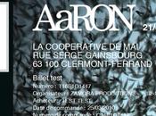 dates tournée d'AaRON exclusivité
