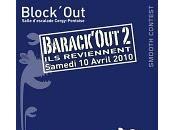 Slackline Bloc Escalade Barack'Out Bron
