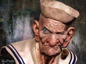 Popeye aura désormais des...triples biceps!!!!