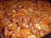 Pastel manzanas-nueces Gateau pommes-noix
