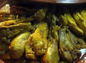 Tajine poulet cajun courgettes légumes gourmands