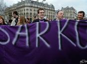 "Manifestation Sarkozy Day"" Paris"