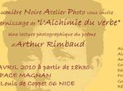 EXPO Lumière Noire revoit Rimbaud photo