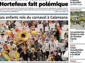 Corse-Matin dans kiosques demain suite grève 24h.