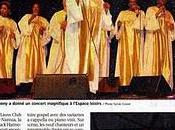 Black Harmony Gospel Singers dans presse