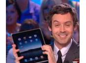 L'iPad s'invite Grand Journal Canal+