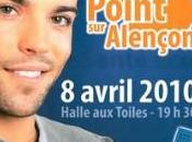 point Alençon, hier, Halle Toiles