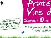 2010, pour 16ème édition, Printemps Vins