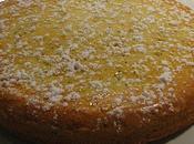 Gâteau aérien citron-pavot coulis framboises