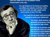 Woody Allen finir dans orgasme