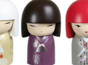Kokeshi poupées japonaise traditionnelles devenues tendance