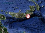 séisme magnitude frappe l'île Nouvelle Bretagne, dans l'Archipel Bismark... Craintes nouvelles éruptions volcaniques