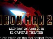 Iron Man2 avant-première Hollywood. Bling-bling cie..