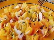 Salade d'endives panachée