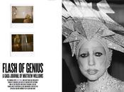 Journal Polaroïd Lady Gaga dans Magazine