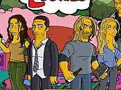 Losties, personnages LOST façon Simpson