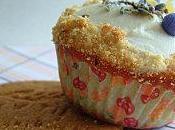 Cupcakes Lemon Cheesecake Lavande