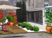 terrasse ouverte jardin