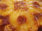 Gâteau moelleux l'ananas caramélisé
