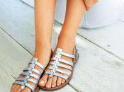 sandales pieds