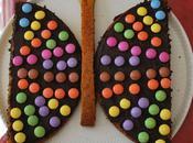 gâteau papillon décor facile rapide