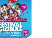 Festival globule, sang juin
