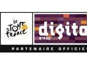 Digital, nouveau partenaire Tour France