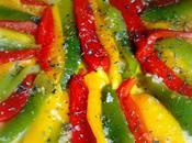 particules fugitives salade trois poivrons mignons