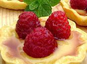 Tarte Framboise, Crème Citron Amandes