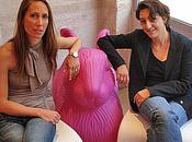 décoratrices Moderne St-Germain filles dans vent