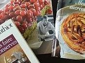 derniers livres culinaires...!