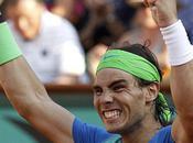 Roland Garros 2010 Rafael Nadal stratosphérique