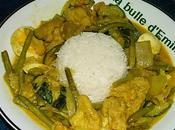 Curry petits légumes basmati...