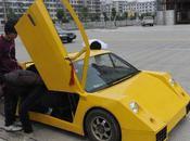 Insolite fabrique propre Lamborghini