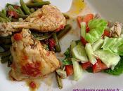 haricots vert poulet