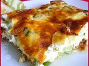 Gratin courgettes fromages