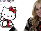 Avril Lavigne obsession Hello kitty