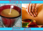 ♥♥-♥♥Bougie massage jasmin /ylang chrono♥♥-♥♥