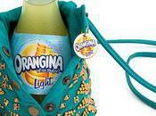 Quand boissons light courtisent mode Antik Batik réalise petite bouteille ronde d'Orangina