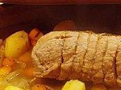Rôti porc l'orange hummm...
