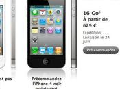 iPhone commande chez Apple
