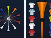 Application iPhone Coupe Monde Vuvuzela 2010