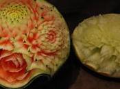 fruits légumes changent forme sous couteau Michael Goursillaud
