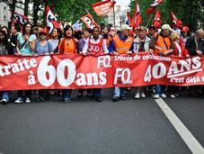 Manifestation Nationale pour retraites, Anti-Pub juin.
