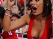 Larissa Riquelme, supportrice sexy Paraguay