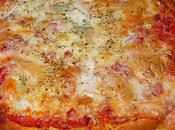 Pizza jambon trois fromages