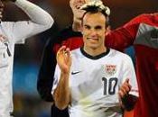 Groupe victoire Etats-Unis contre l'Algérie grâce Landon Donovan, américains qualifiés pour huitièmes finale