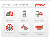 Extension Chrome Gestion comptes Freebox