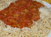 Sauce tomate légumes